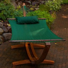 Double Hammock GREEN - from your hammocks shop in USA