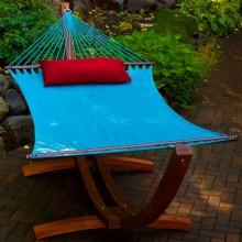 Double Hammock LIGHT-BLUE- from your hammocks shop in USA