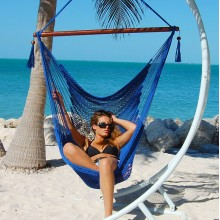 Caribbean large hammock chair (Blue) - from your hammocks shop in USA