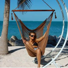 Caribbean large hammock chair (Mocha) - from your hammocks shop in USA