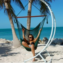 Caribbean large hammock chair (Green) - from your hammocks shop in USA