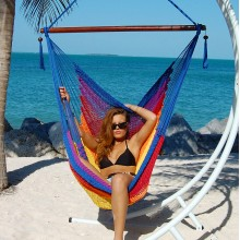 Caribbean large hammock chair (Multicolor) - from your hammocks shop in USA