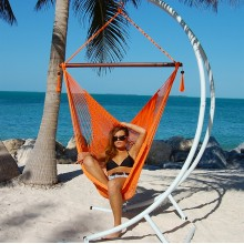 Caribbean large hammock chair (Orange) - from your hammocks shop in USA