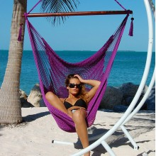 Caribbean large hammock chair (Purple) - from your hammocks shop in USA