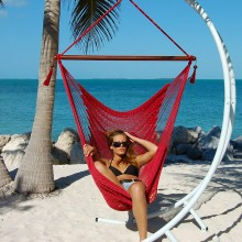 Caribbean large hammock chair (Red) - from your hammocks shop in USA