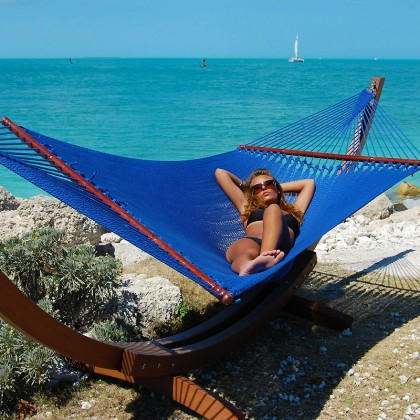 Caribbean jumbo hammock (Blue) - from your hammocks shop in USA