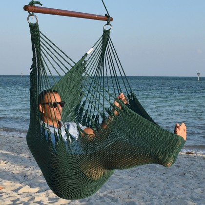 Caribbean jumbo hammock chair (Green) - from your hammocks shop in USA