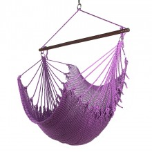 CARIBBEAN HAMMOCK JUMBO CHAIR (Purple) - from Hammocks of Americas