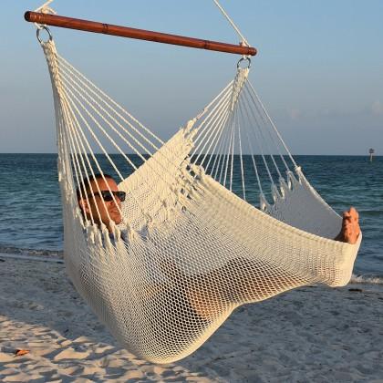 Caribbean jumbo hammock chair (White) - from your hammocks shop in USA