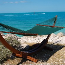 Caribbean jumbo hammock (Green) - from Hammocks of Americas