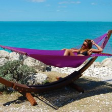 Caribbean jumbo hammock (Purple) - from your hammocks shop in USA