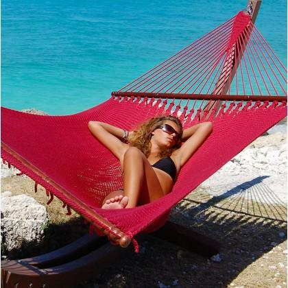 Caribbean jumbo hammock (Red) - from your hammocks shop in USA