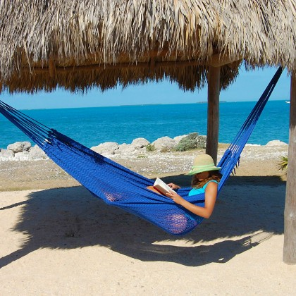 Caribbean mayan hammock (Blue) - from your hammocks shop in USA