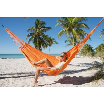 CARIBBEAN HAMMOCK MAYAN (Orange) - from Hammocks of Americas