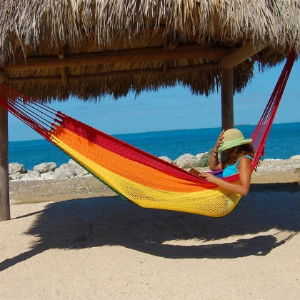Caribbean mayan hammock (Rainbow) - from your hammocks shop in USA