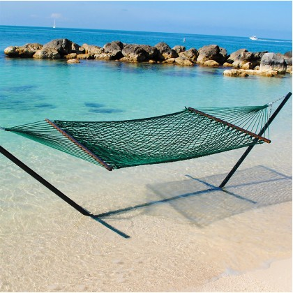 Caribbean Rope Hammocks (Green) - from your hammocks shop in USA