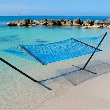 Caribbean Rope Hammocks (Light Blue) - from your hammocks shop in USA
