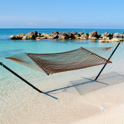 Caribbean Rope Hammocks (Mocha) - from your hammocks shop in USA