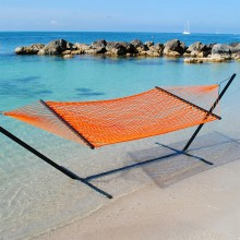 Caribbean Rope Hammocks (Orange) - from your hammocks shop in USA
