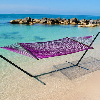 Caribbean Rope Hammocks (Purple) - from your hammocks shop in USA