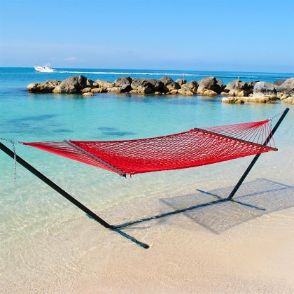 Caribbean Rope Hammocks (Red) - from your hammocks shop in USA