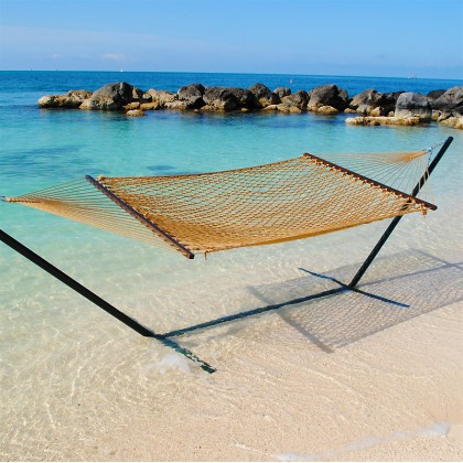 Caribbean Rope Hammocks (Tan) - from your hammocks shop in USA