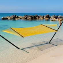 Caribbean Rope Hammocks (Yellow) - from your hammocks shop in USA