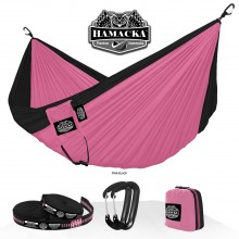 Travel hammock set (Pink-black) Hamacka - from your hammocks shop in USA