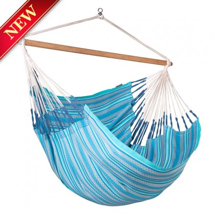 La Siesta Hammock Chair Kingsize ( Habana Azure ) - from Hammocks of Americas