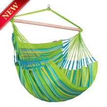 La Siesta Hammock Chair Kingsize ( Domingo Lime ) - from Hammocks of Americas