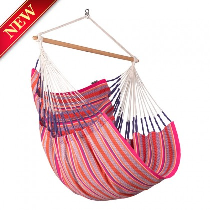 La Siesta Hammock Chair Large (Habana Flamingo) - from Hammocks of Americas