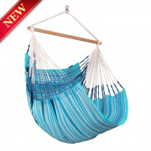 La Siesta Hammock Chair Large (Habana Azure) - from Hammocks of Americas