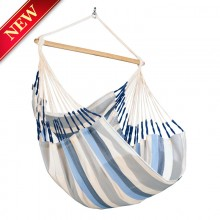 La Siesta Hammock Chair Large (Domingo Sea Salt) - from Hammocks of Americas