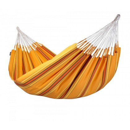 La Siesta Hammock Double ( Currambera Apricot ) - from Hammocks of Americas