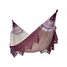La Siesta Hammock Kingsize ( Bossanova Bordeaux ) - from Hammocks of Americas
