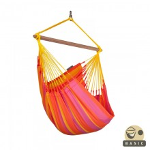 """Hammock Chair"" Basic Sonrisa Mandarine - By the hammocks store of Americas"