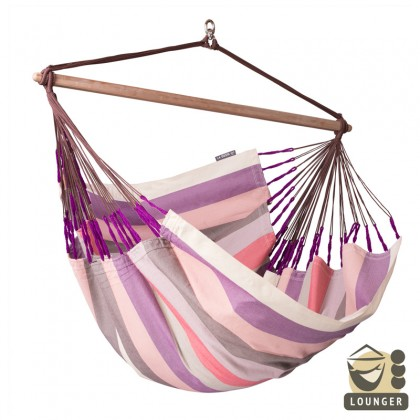 """Hammock Chair"" Lounger DOMINGO Plum - By the hammocks store of Americas"