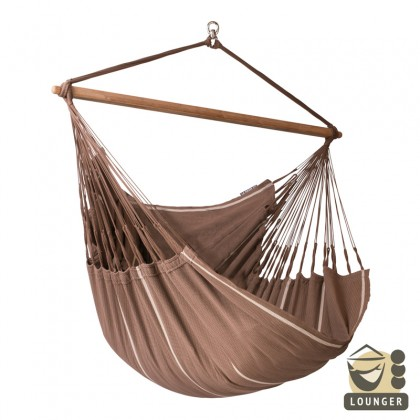 """Hammock Chair"" Lounger Habana Chocolate - By the hammocks store of Americas"