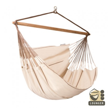 """Hammock Chair"" Lounger Habana Nougat - By the hammocks store of Americas"