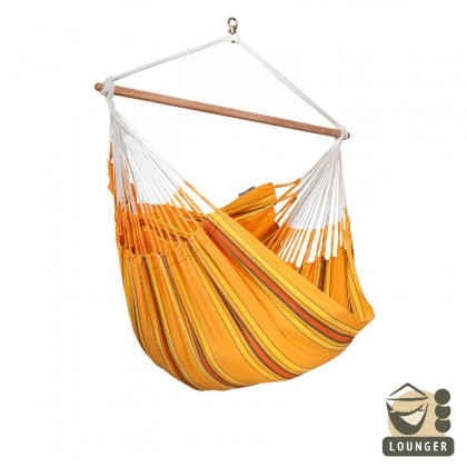 """Hammock Chair"" lounger Currambera Apricot - By the hammocks store of Americas"
