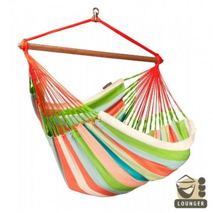 """Hammock Chair"" Lounger Domingo Coral - By the hammocks store of Americas"
