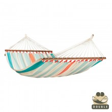 """Double Hammock"" with bars Colada Curaçao - By the hammocks store of Americas"