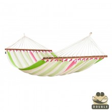 """Double Hammock"" with bars Colada Kiwi - By the hammocks store of Americas"