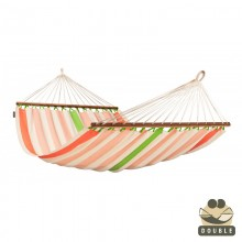 """Double Hammock"" with bars Colada Mango - By the hammocks store of Americas"