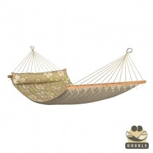 """Double Hammock"" with bars Hawaii Coconut - By the hammocks store of Americas"