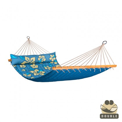 """Double Hammock"" with bars Hawaii Pacific - By the hammocks store of Americas"