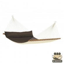 """Hammock with spreader bars"" Kingsize Alabama Arabica - By the hammocks store of Americas"