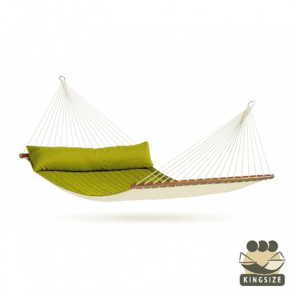 """Hammock with spreader bars"" Kingsize Alabama Avocado - By the hammocks store of Americas"