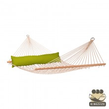 """Hammock with spreader bars"" Kingsize CALIFORNIA Avocado - By the hammocks store of Americas"
