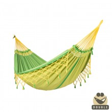 """Double Hammock"" COPA canarinha - By the hammocks store of Americas"